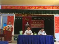 Uỷ ban MTTQ Việt Nam xã Quế Minh tổ chức đối thoại giữa người đứng đầu Cấp ủy, Chính quyền xã với nhân dân xã Quế Minh.