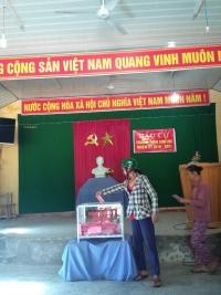 Xã Quế Minh tổ chức bầu cử chức danh Trưởng thôn nhiệm kỳ 2019-2021